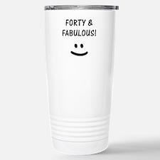Funny 40th Birthday Travel Mug
