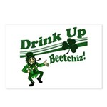 Drink Up Bitches Postcards (Package of 8)