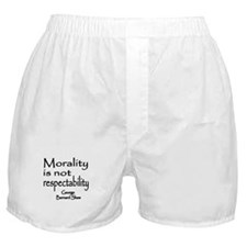 Shaw on Morality Boxer Shorts