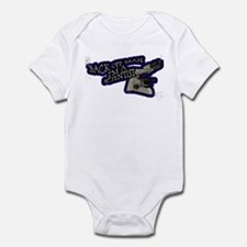 Back Off Man Infant Bodysuit