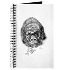 Cute Gorilla illustration Journal
