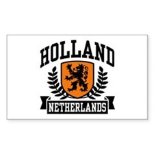 Holland Netherlands Rectangle Decal