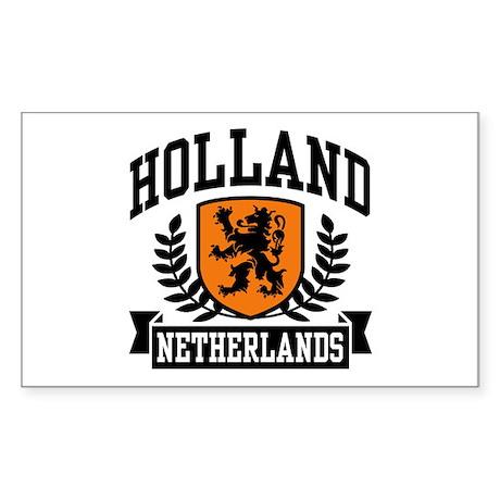 Holland Netherlands Rectangle Sticker