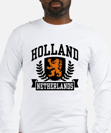 Holland Netherlands Long Sleeve T-Shirt