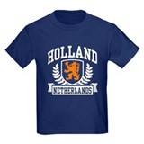 Holland lion Kids T-shirts (Dark)