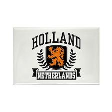 Holland Netherlands Rectangle Magnet
