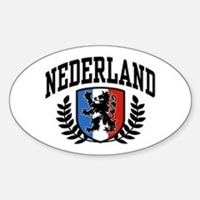 Nederland Oval Decal
