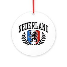 Nederland Ornament (Round)