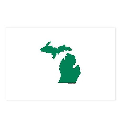 Michigan Green Peninsulas Postcards (Package of 8)