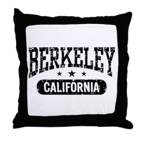 Berkeley California Throw Pillow