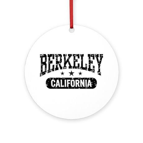 Berkeley California Ornament (Round)