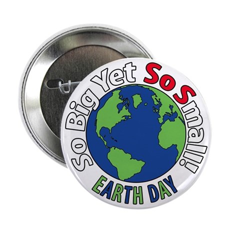 """Earth Day 2.25"""" Button"""