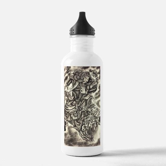 Cute Ukiyo e Water Bottle