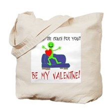 I'd Jump the Couch for You Valentine Tote Bag