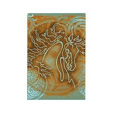 """Abundante"" Rectangle Magnet (10 pack)"