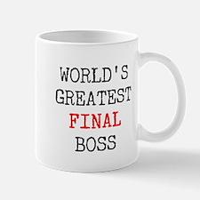 World's Greatest Final Boss Mug