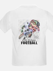 Old School Dino Football T-Shirt