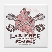 Live to LaX Tile Coaster