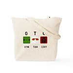 Gym Tan Laundry Tote Bag