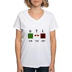 Gym Tan Laundry Women's V-Neck T-Shirt