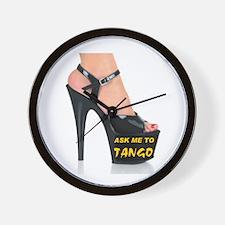 TANGO WITH ME Wall Clock