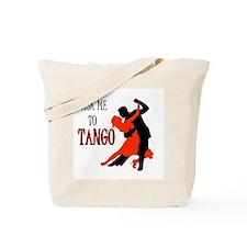 TANGO WITH ME Tote Bag