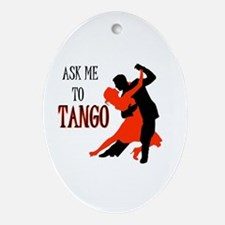 TANGO WITH ME Oval Ornament