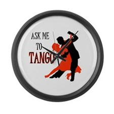 TANGO WITH ME Large Wall Clock