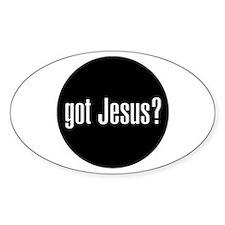 Got Jesus? Oval Decal