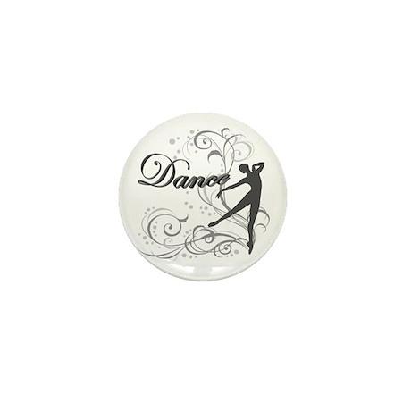 Dance - scroll Mini Button (10 pack)