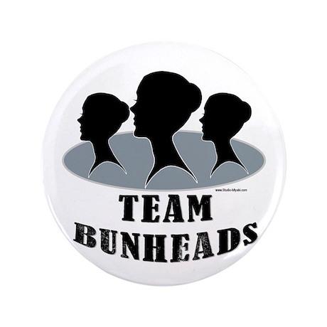 "Team Bunheads 3.5"" Button"