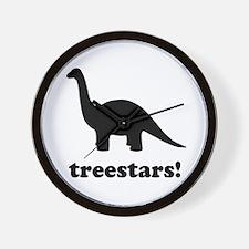 Treestars! Wall Clock