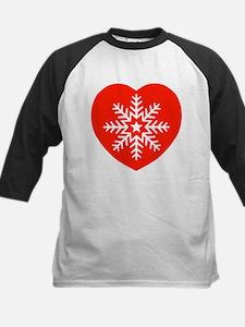 Snowflake Heart Tee