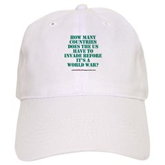 IS IT A WORLD WAR YET? Baseball Cap