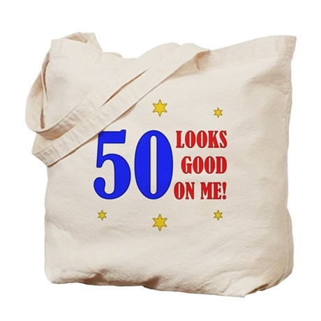 Fun 50th Birthday Tote Bag