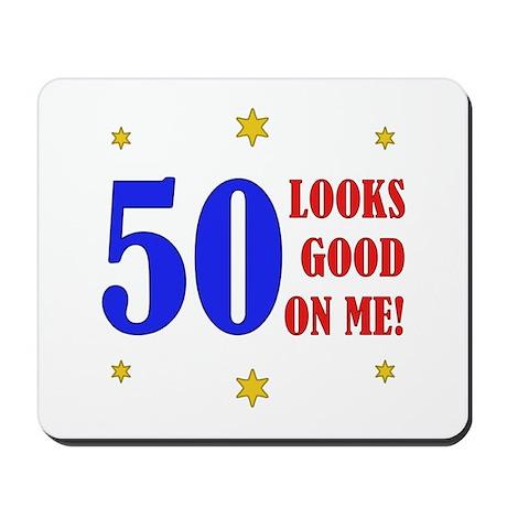 Fun 50th Birthday Mousepad
