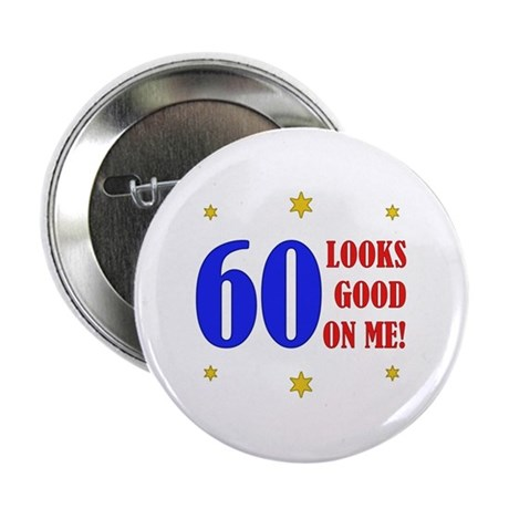 "Fun 60th Birthday 2.25"" Button"