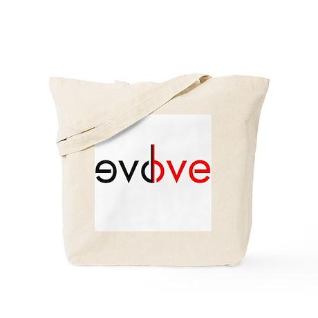 evolve love Tote Bag