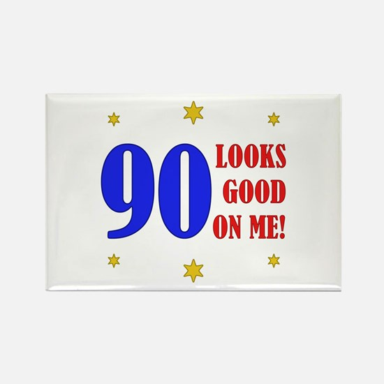 Fun 90th Birthday Rectangle Magnet