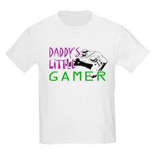 Daddy's Little Gamer T-Shirt