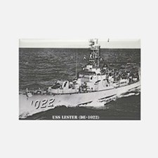 USS LESTER Rectangle Magnet