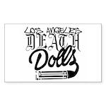 Los Angeles Death Dolls Sticker (Rectangular)