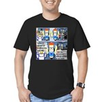 Writers' Party Men's Fitted T-Shirt (dark)