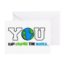 Change the World - Greeting Cards (Pk of 20)