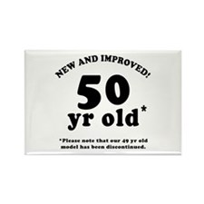 50th Birthday Gag Rectangle Magnet