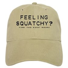 FEELING SQUATCHY Baseball Cap-Sasquatch Bigfoot
