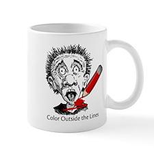 Color Outside Mug