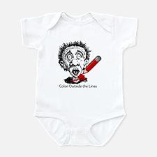 Color Outside Infant Bodysuit
