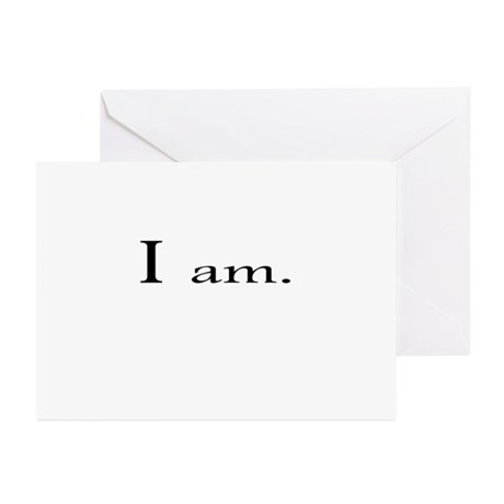I am Greeting Cards (Pk of 20)