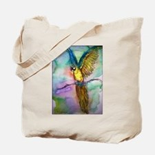 Blue Macaw, Colorful, Parrot, Tote Bag